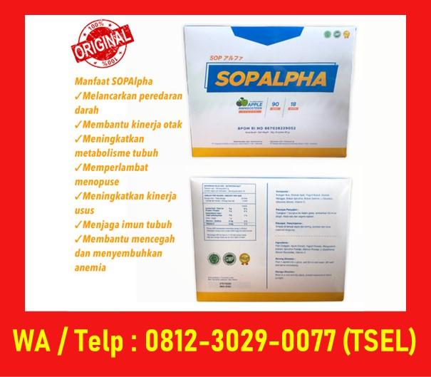 Efek Samping Sop Alpha