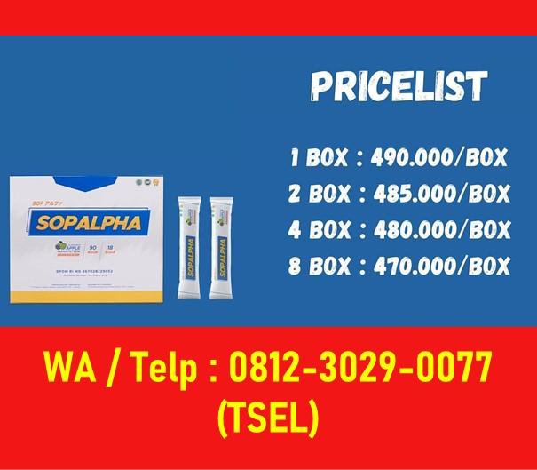 Harga Paket Sop Alpha